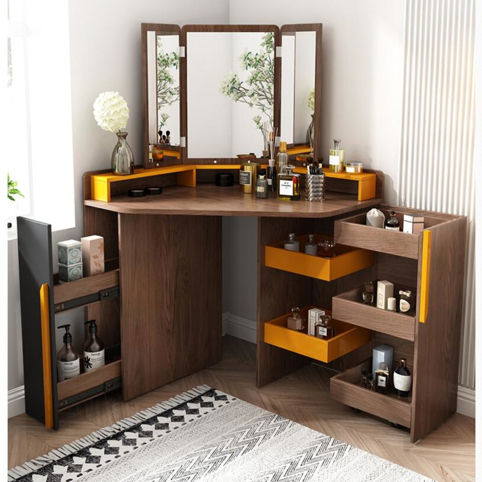 Nordic small family corner dressing table bedroom modern simple