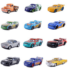 Машинки disney Pixar Cars 3 Lightning McQueen Mater 1:55 литая под давлением металлическая модель из сплава игрушка для детей Рождественский подарок