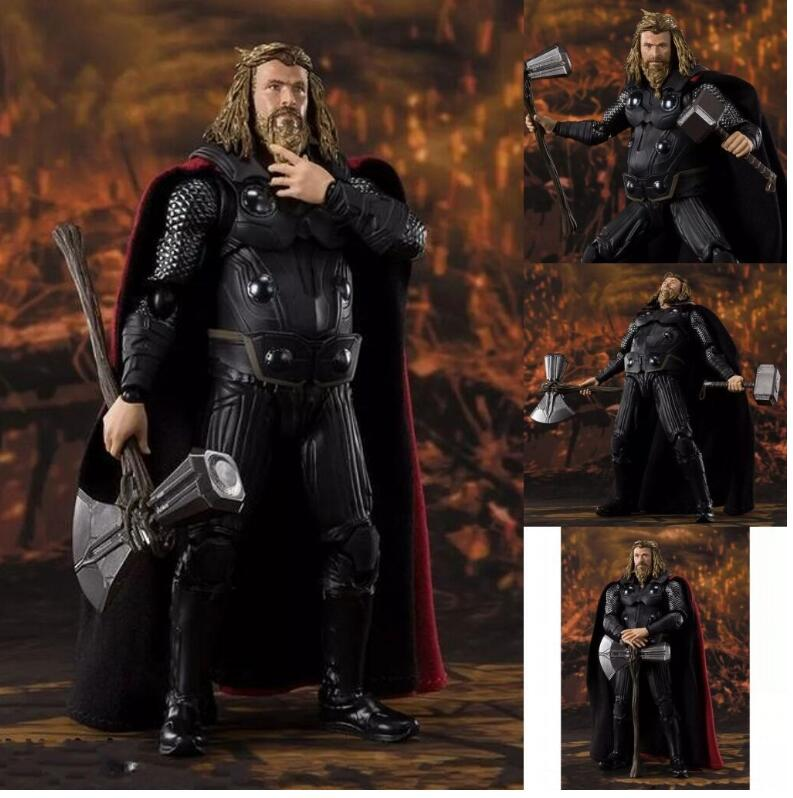 Marvel Super Hero Thor Articulated PVC Action Figure Collectible Model Toys