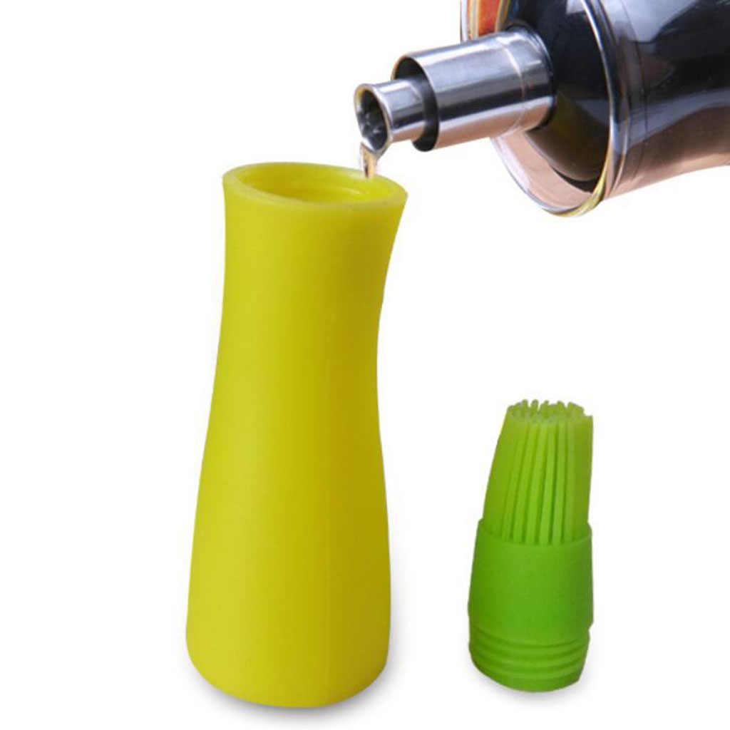 dispensador de Aceite Dispensador de vinagre para Almacenamiento de 1000ML con Pico antigoteo Durable con protecci/ón contra el Polvo Botella de Aceite de Acero JULYKAI Botella de Aceite