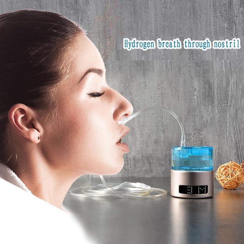 Mini 100ML SPE/PEM Rich Hydrogen Generator Cup Water Filter Water Alkaline Ionizer Bottle With Drain Hole USB Rechargeable