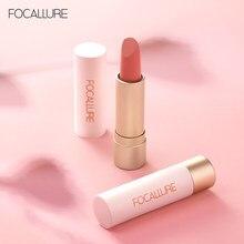 FOCALLURE-rouge à lèvres mat résistant à l'eau, bâton velours, couleur chair, maquillage longue durée