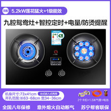 Gas-Stove Double-Burner Petroleum Desktop Kitchen Household Raging Embedded Liquefied