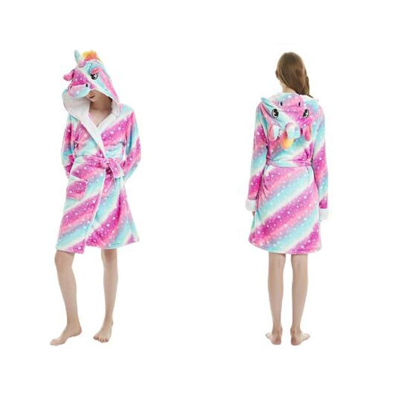 Woman Cloak Pajamas Szlafrok Bridesmaid Robes Fun Sleepwear Cute Bride Bath Robe
