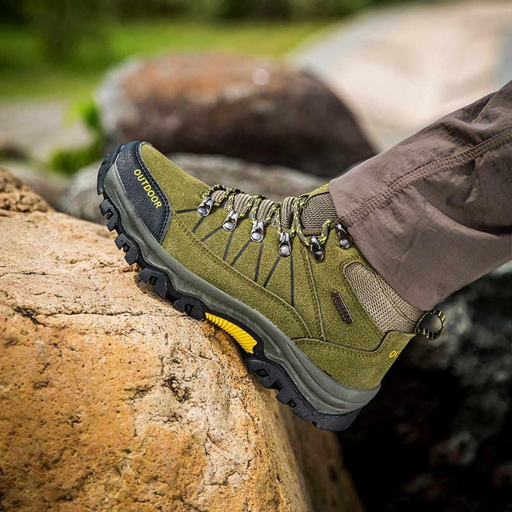 Mannen Wandelschoenen Heren Sport Schoenen Outdoor Jogging Trekking Sneakers antislip slijtvast Reizen Schoenen