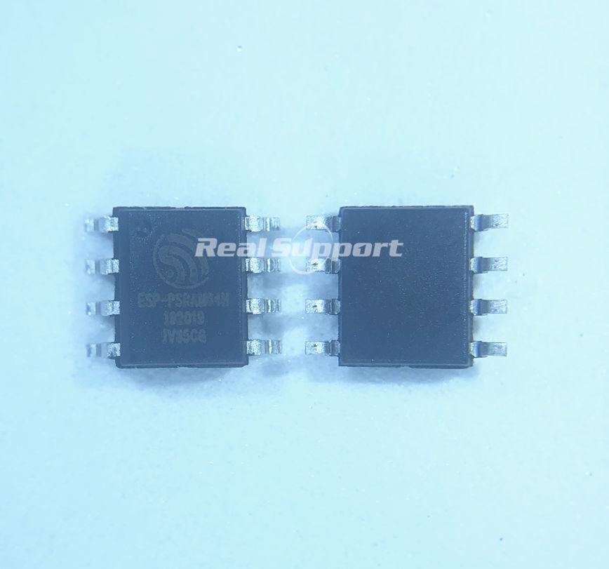 10 PCS ESP-PSRAM64H 3.3V SOP8 64Mbit PSRAM Can Replace IPS6404LSQ IPS6404L-SQ-SPN
