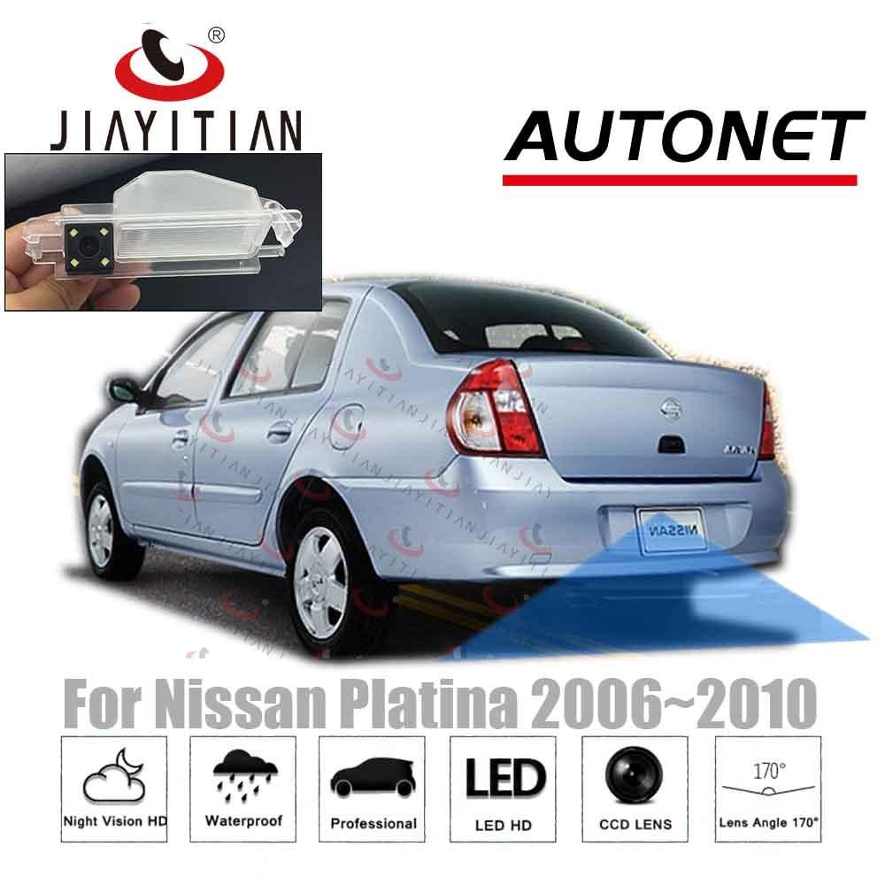 Jiayitian para nissan platina 2006 2007 2008 2009 2010 invertendo câmera/adaptador de tela original cabo câmera visão traseira/kit backup