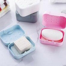 Viagem caixa de sabão prato caso mini portátil holde nova marca fácil transportar caixa de sabão titular de sabão de viagem caixa de sabão caso dropshipping