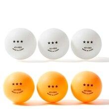 5/10 шт. Профессиональный мячи для настольного тенниса, 3 звезды, 2,8g 40+ мм ABS Пластик мяч для пинг-понга тренировочные ракетки для занятий спортом 2 цвета