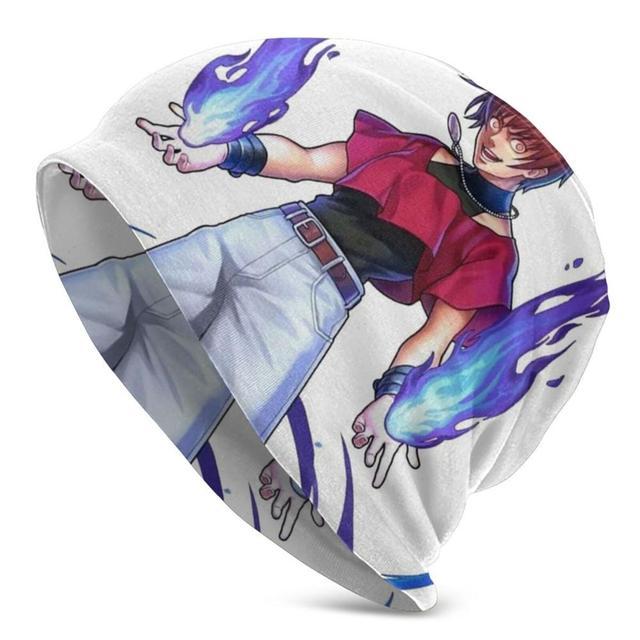 Orochi – bonnet tricoté unisexe Chris, roi des combattants, Kof 97, équipe Shermie et Yashiro, printemps automne