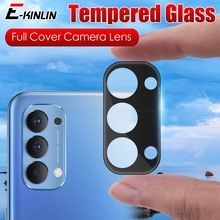 Camera Protection Glass For OPPO Reno5 Reno4 Reno 4 F 5 Pro LiteFull Cover 3D Curverd Lens Screen Protector Tempered Glass Film