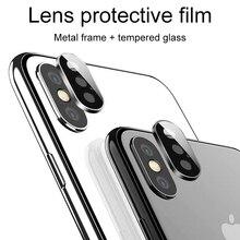 Lưng Bảo Vệ Ống Kính Camera Kính Bảo Vệ Cho Iphone 11 X Xr Xs Max Kính Cường Lực Ba Lô Flim Bảo Vệ Kính Trên Iphone 11 Pro MAX