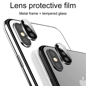 Image 1 - 뒤로 카메라 렌즈 보호대 iphone 11 x xr xs 용 보호 유리 iphone 11 Pro max의 최대 강화 유리 flim 보호 유리