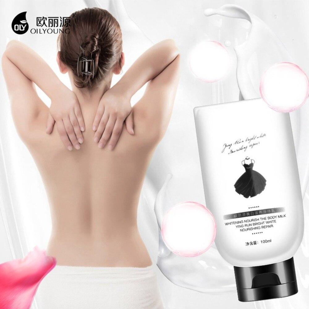 100ML Nourish Milk Cream Skin Care Moisturizing Whitening Exfoliating Skin Care Unisex Body Scrub & Bodys Treatment