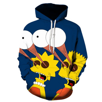 New Simpson Printed 3D men/women Hoodies Sweatshirts high Quality Hooded boys kids Jacket Novelty Streetwear Fashion Pullover 1