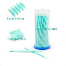 Green seires podkładki silikonowe do podnoszenia rzęs zestaw sztuczne rzęsy do przedłużania podnoszenia zestaw do trwałej pielęgnacji Y bursh i długi szal na głowę