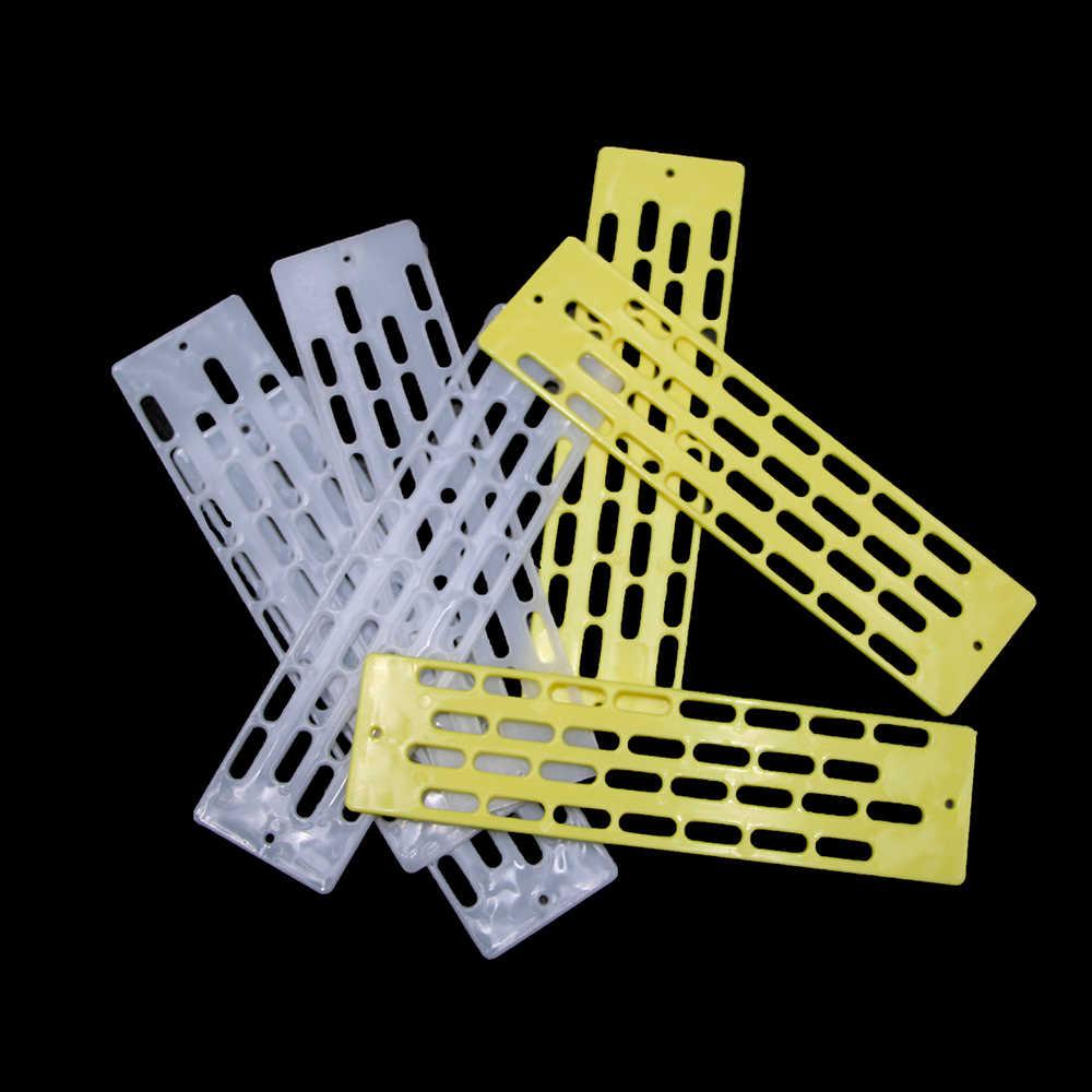5Pcs כוורות כלי בריחה אנטי גניבה דבורים מלכת פלסטיק Spacer מסגרת כוורת ציוד מחסום שער קן כוורן כלים מכירה