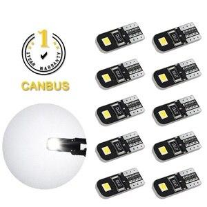 10x T10 W5W светодиодный Canbus лампа 194 168 автомобильные парковочные огни для Volkswagen Golf 4 5 6 Passat B6 B7 CC Scirocco Polo Tiguan MK6 Caddy