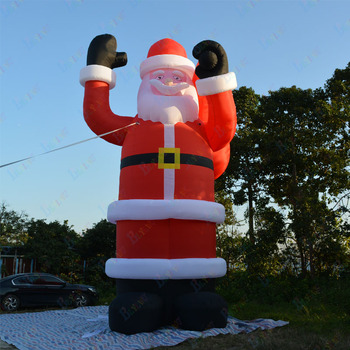 Free Shipping Customized Giant Inflatable Santa Claus, Inflatable Cartoon Santa Claus, Advertising Christmas Party Decoration