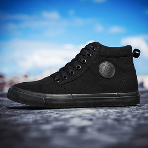 Image 4 - Zapatos de lona para hombre, calzado informal deportivo para exteriores, mocasines planos vulcanizados de alta calidad, moda estudiantil para adultos