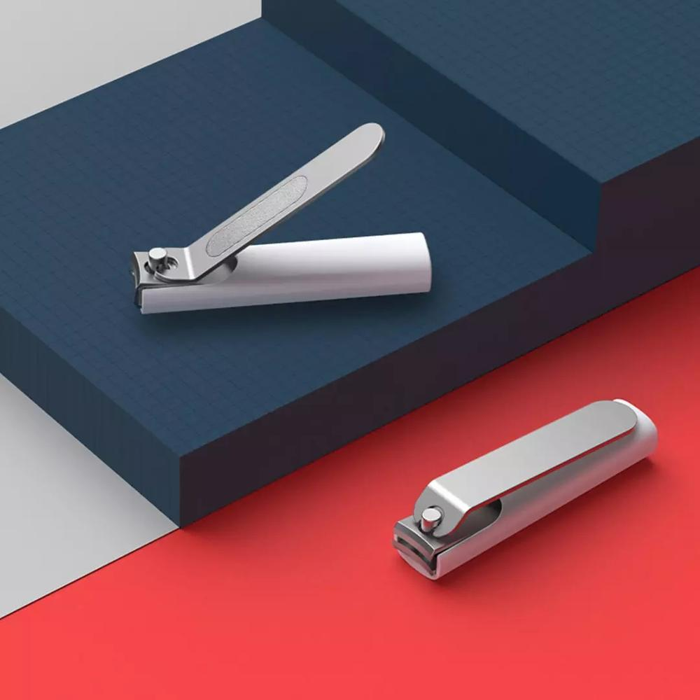 XIAOMI Mijia No Splash Nail Clipper Cutter Cleaner Toenail Manicure Pedicure Anti-splash With Shell Case Stainless Steel Trimmer