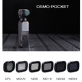 Osmo Карманный карданный фотоаппарат Osmo карманный фильтр ND CPL Polar ND8 16 32 64 УФ-фильтры для DJI Osmo карманные аксессуары