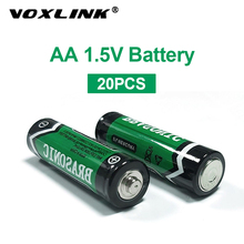 VOXLINK 20PCS 1.5V aa battery LR6 AM3 E91 MN1500 Alkaline Dry Battery Primary Battery For mp3 camera flash razor electric mouse sale 4 10pcs 1 5v lithium aa battery 3000mah lr6 am3 2a lifes2 cell dry primary battery for camera and toys electric shaver