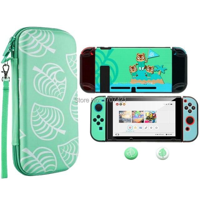 2020 חדש Nintend מתג אביזרי לשאת תיק + מזג זכוכית סרט + קליפה קשה מקרה עבור Nintendos מתג משחק קונסולה
