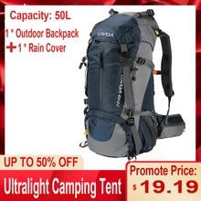 Lixada 50L Outdoor Sport Wandern Reise Rucksack Camping Pack Bergsteigen Klettern Rucksack Trekking Tasche Knapsack
