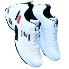 Men's shoes small white sports shoes leather waterproof breathable large size 45 casual shoes men's 46 shoes