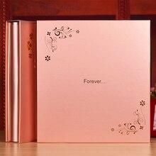 4D 6 Cal 600 lub 400 kieszenie o dużej pojemności plastikowa wkładka Cartoon zdjęcie dzieci Album podróż poślubna Foto Album Scrapbook