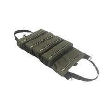 Storage-Bag Zipper-Carrier Key-Pouch Multi-Purpose-Tool Roll-Up-Canvas Car-Hang