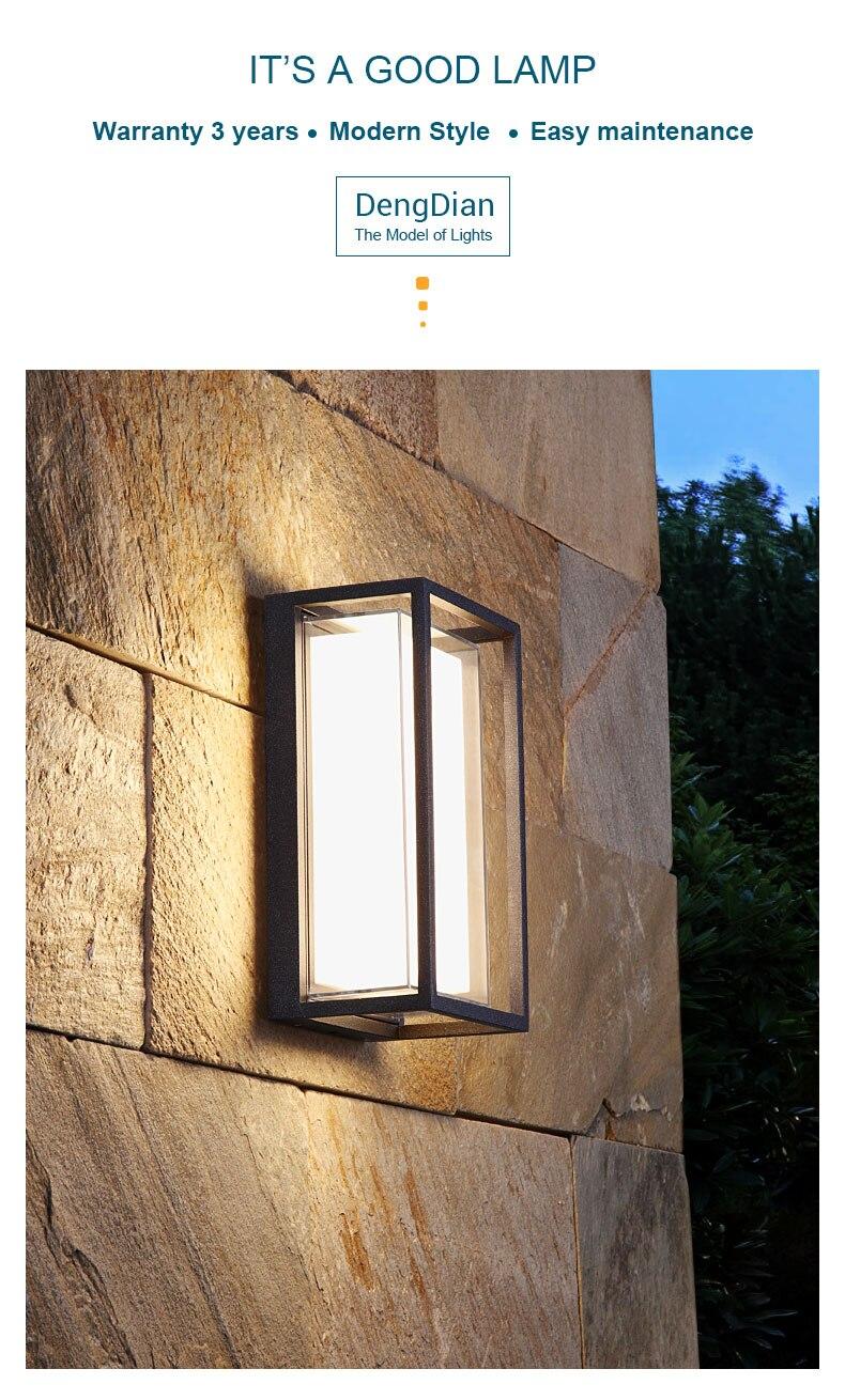 Waterproof Led Wall Lamps