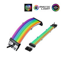 Extension Pc-Decoration 2-Cable LIANLI Strimer-Plus Double/Triple-8pin ATX 24pin-Gpu