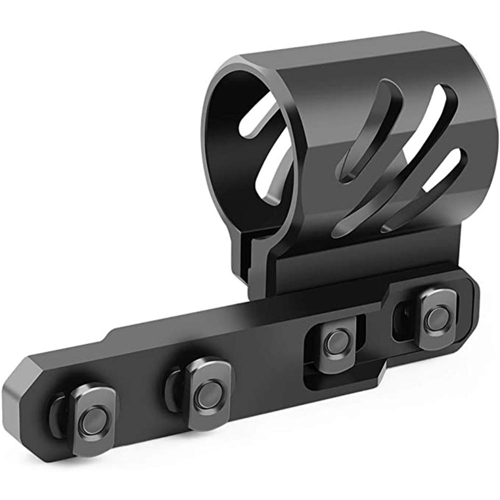 Fits 27mm 25.4mm 20mm Diameter Flashlight Feyachi M-Lok Offset Flashlight Ring Mount For Mlok Rail System - 2 Mounting Inserts I