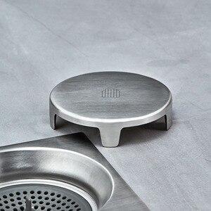 Image 4 - Diiib Boden Ablauf Deodorant Insekten Proof Edelstahl Wirbelnde Entwässerung Küche Bad Anti blocking Filter Ablauf