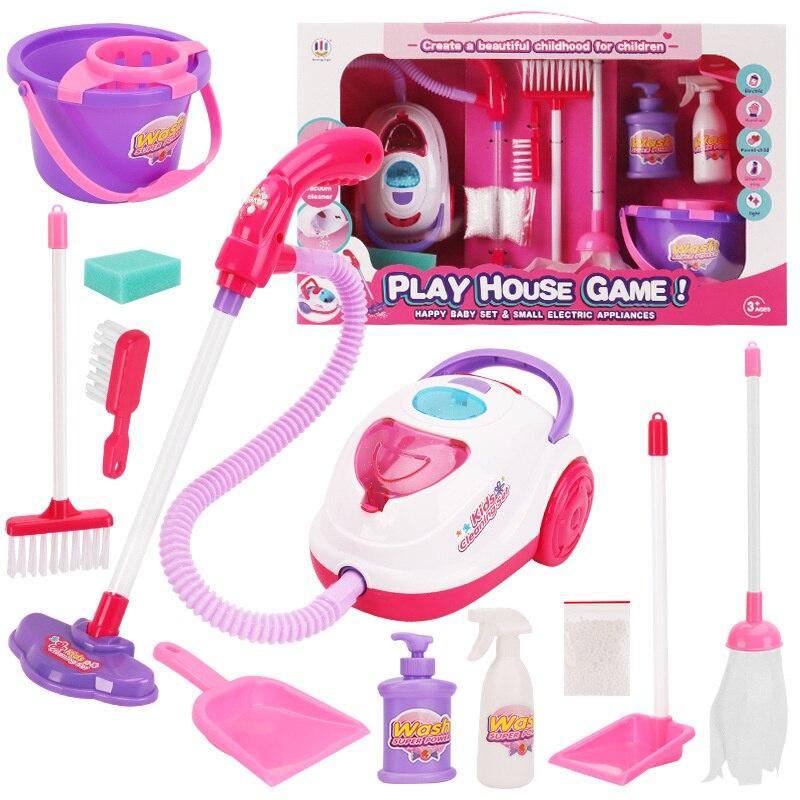fingir jogar brinquedo de limpeza criancas brinquedos 05