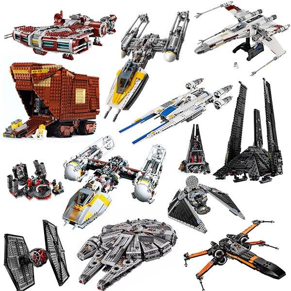 05085 película de Star Wars Jedi defender clase crucero Jedi estilo de bloques de construcción ladrillos juguetes regalo para los niños Star Wars 75025