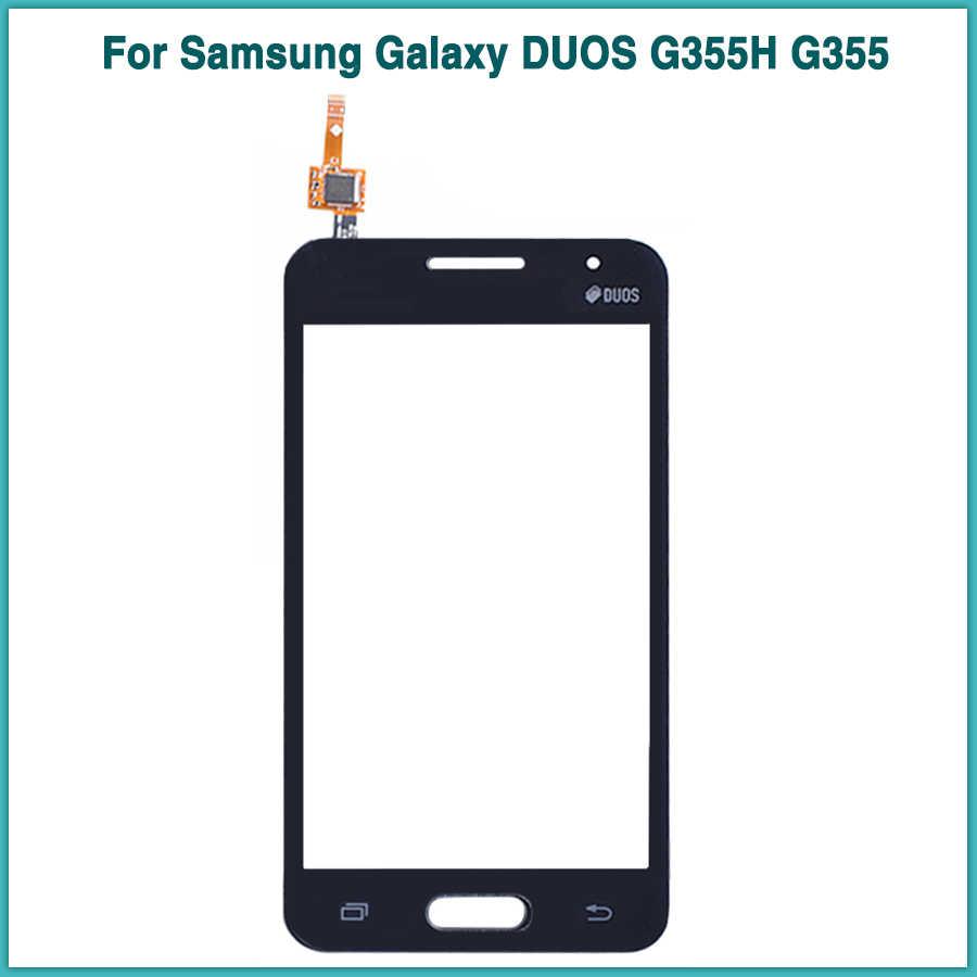 جديد LCD لوحة اللمس لسامسونج غالاكسي كور 2 SM-G355H G355H g355 شاشة الكريستال السائل محول الأرقام بشاشة تعمل بلمس الاستشعار الزجاج