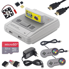 Retroflag SUPERPi CASE J Case with Cartridge + Gamepad + 32GB SD Card + HDMI Cable + Power Adapter for Raspberry Pi 3 B+ / 3B