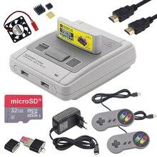 Retroflag SUPERPi CASE J Fall mit Patrone + Gamepad + 32GB SD Karte + HDMI Kabel + Power Adapter für raspberry Pi 3 B + / 3B