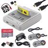 Retroflag SUPERPi CASE J étui avec cartouche + manette + carte SD 32 go + câble HDMI + adaptateur secteur pour Raspberry Pi 3 B + / 3B