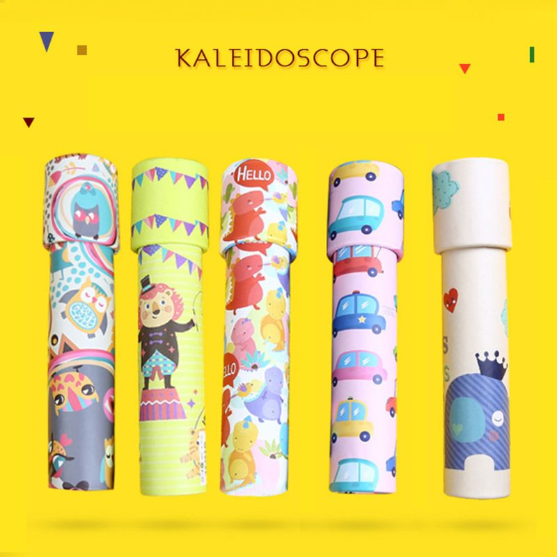 Classic Toys Kaleidoscope Rotating Magic Colorful World Educational Science Parent-child Interactive Plaything