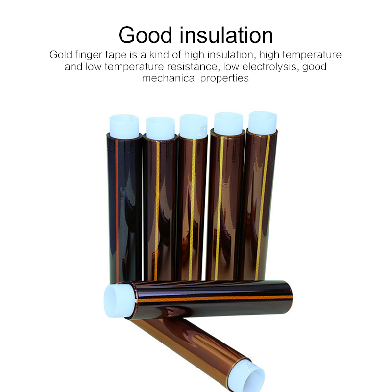 Thermal Adhesives Tape Panel Protector 3D High Temperature Heat Tapes Hardware Home Improvement Insulation Tape Polyimide Sealer 4