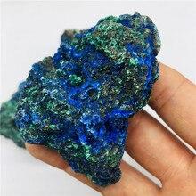 100g Natural fine Laotian azurite malachite symbiotic primary ore standard