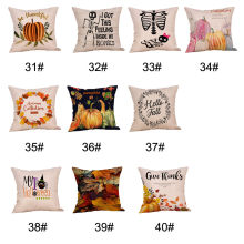 Geometric Nordic Cushion Cover Tropic Pineapple Throw Pillow Cover Polyester Cushion Case Sofa Bed Decorative Pillow Gift 64P(China)