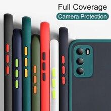 Chống Sốc Lai Vỏ Chắc Chắn Cho Huawei P40 P30 PRO Bảo Vệ Camera Mờ Dành Cho Huawei Mate 20 30 pro Lite Ốp Lưng