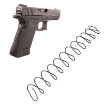 Magorui Tactics Glock Steel Magazines Base Pad Spring Mag Extension Spring for Glock G17/19/22/23/34/35 M&P 5/6