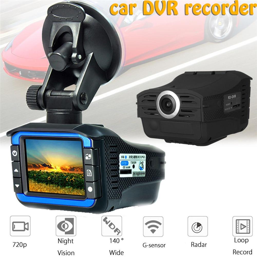 Camera-Radar-Laser Car-Dvr-Recorder Dash-Camera Car-Hidden-Dvr Wide-Angle 140-Degree