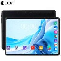 10,1-дюймовый Планшет 2.5D стальной экран Android 9,0 десять ядер 8 ГБ ОЗУ 128 Гб ПЗУ S-IPS Wi-Fi Bluetooth GPS Планшетный ПК 10,1 + подарок